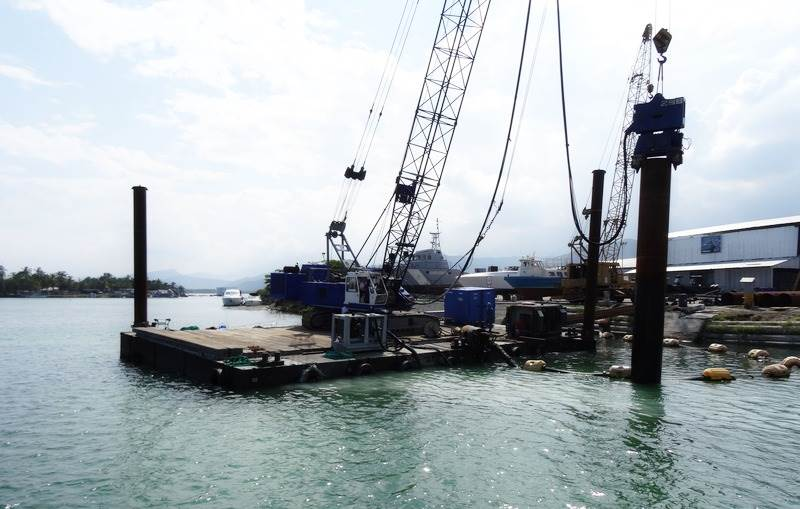 Damen provides you a wide range of maritime construction services