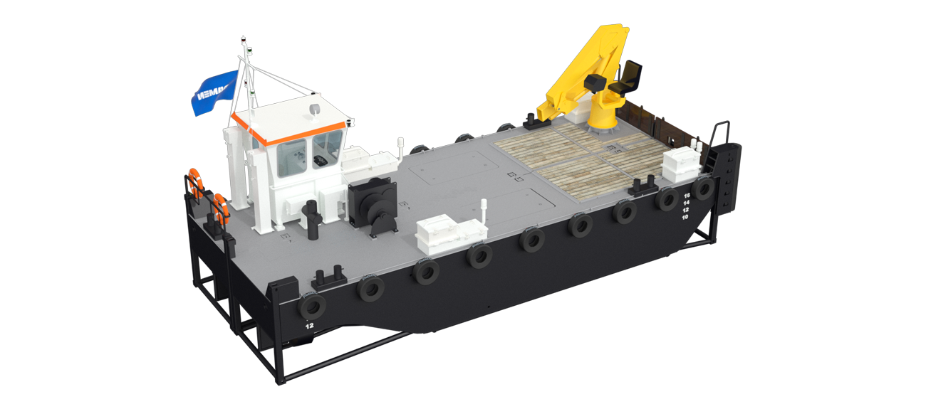 Modular Multi Cat for fuel and cargo supply