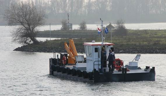 The vessel can be used for anchor handling