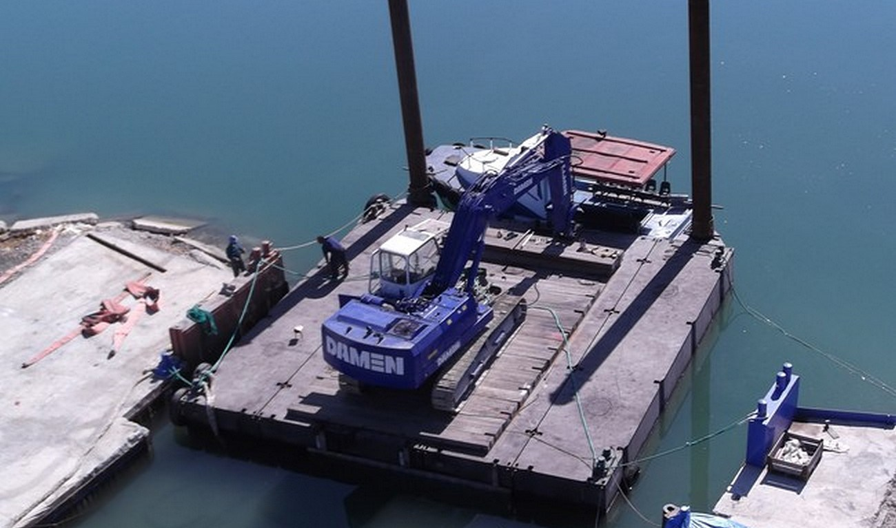 Damen Modular Pontoon provides flexibility in remote areas at low costs