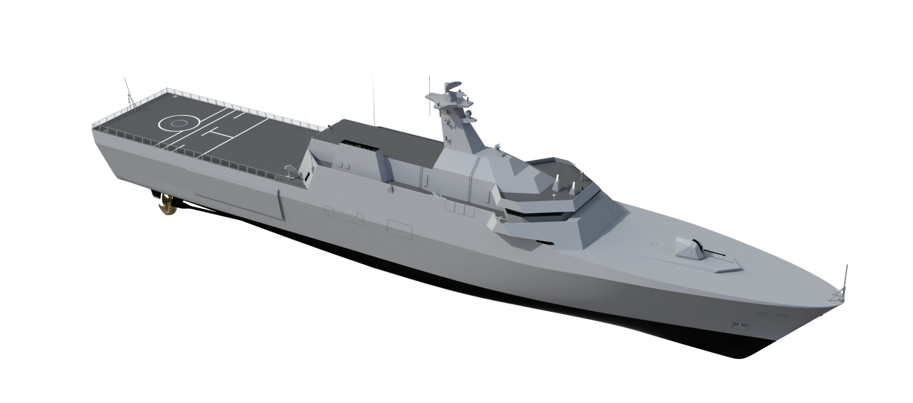 Future ships need to be self-sustaining, self-reliant and capable of dealing with threats effectively