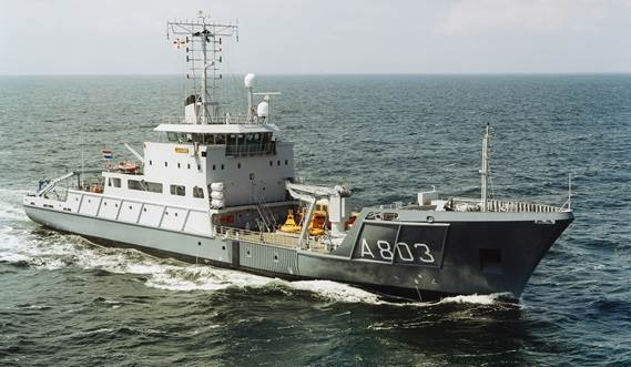 Damen Hydrographic Survey Vessel YN391392 Luymes Snellius