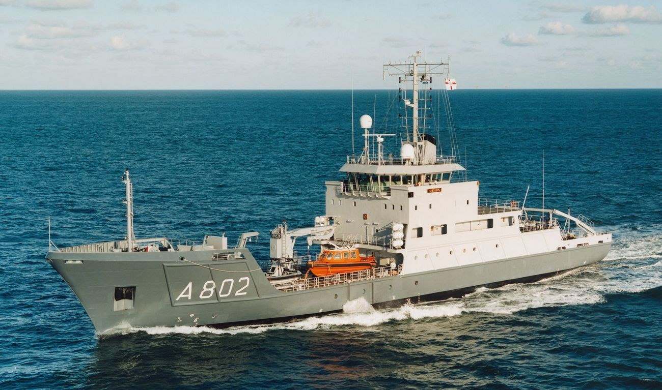 Hydrographic Survey Vessel for both military and commercial use