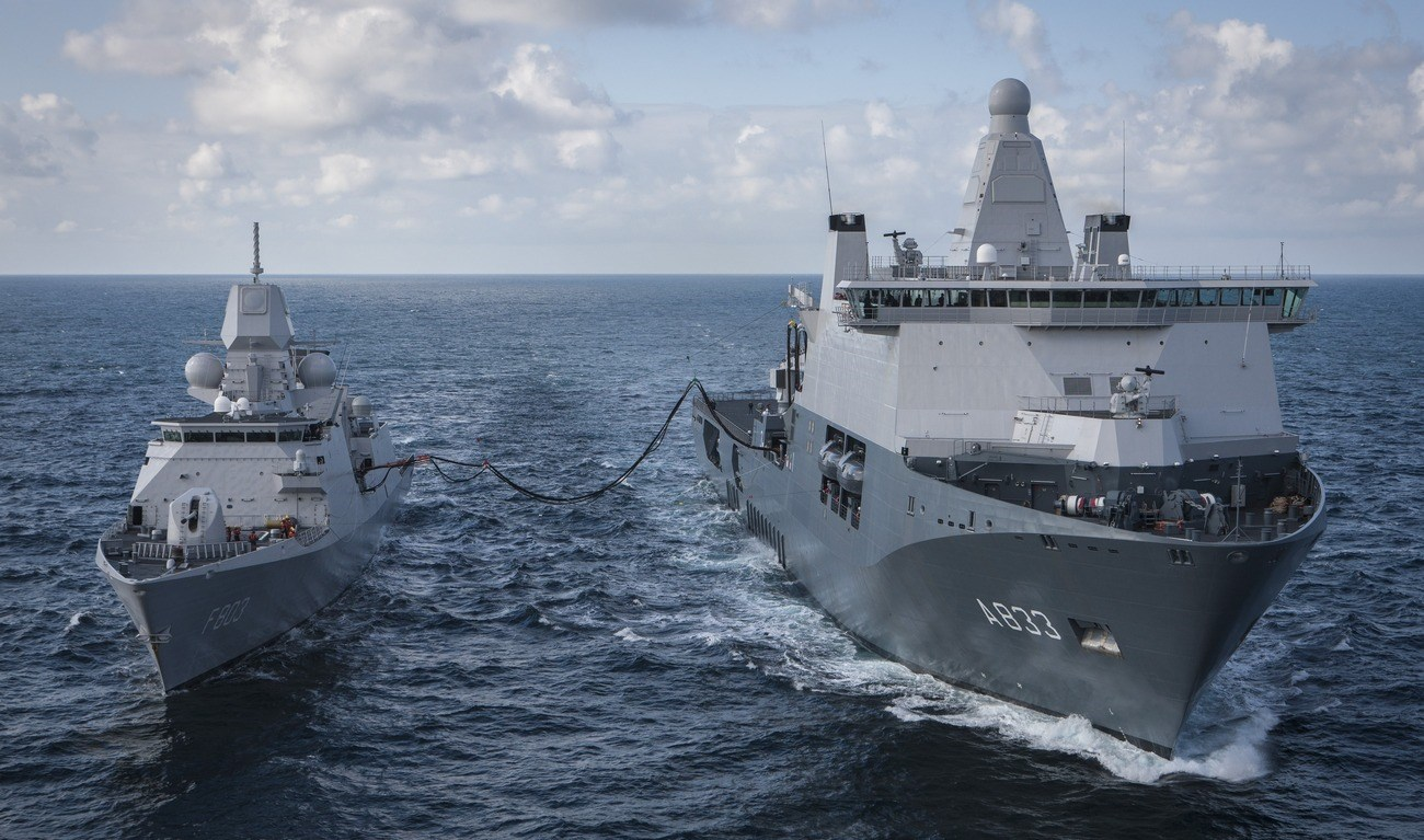 Naval Support Ship is built for the Royal Netherlands Navy