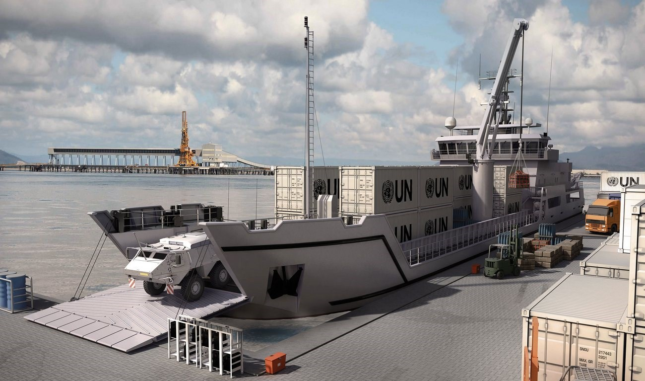 Implementing many smart design features the Damen Landing Shi design boosts flexibility, creating vessels with more value throughout their entire lifetime