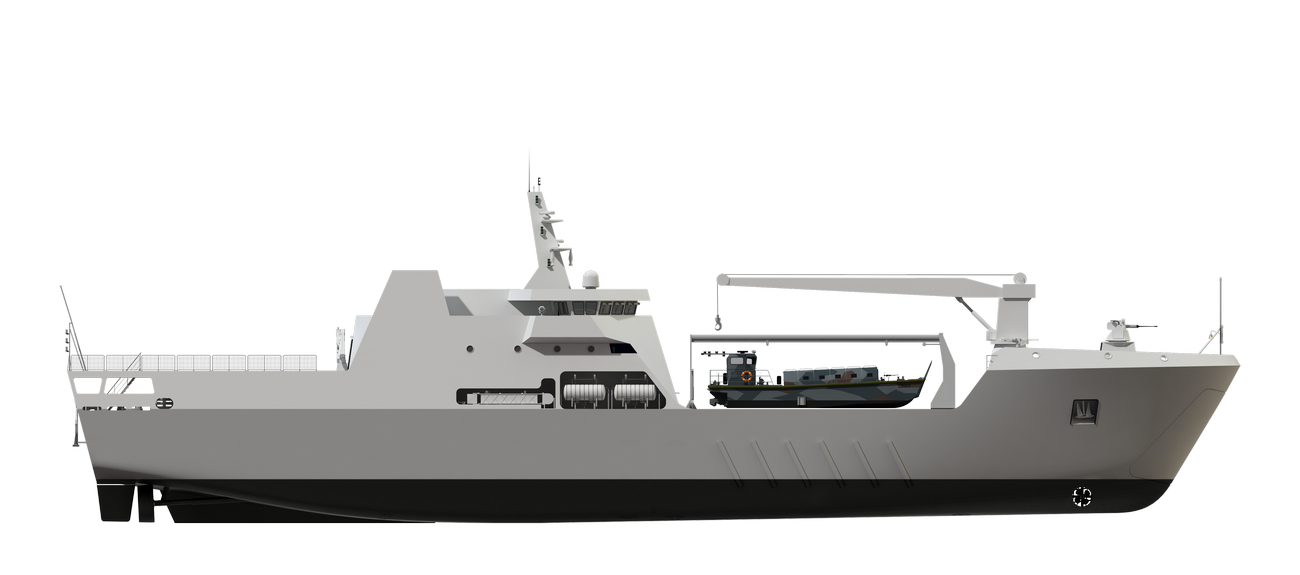 Damen Landing Ship range is a state-of-art flexible Class designed to fulfil all traditional Landing Ship mission requirements