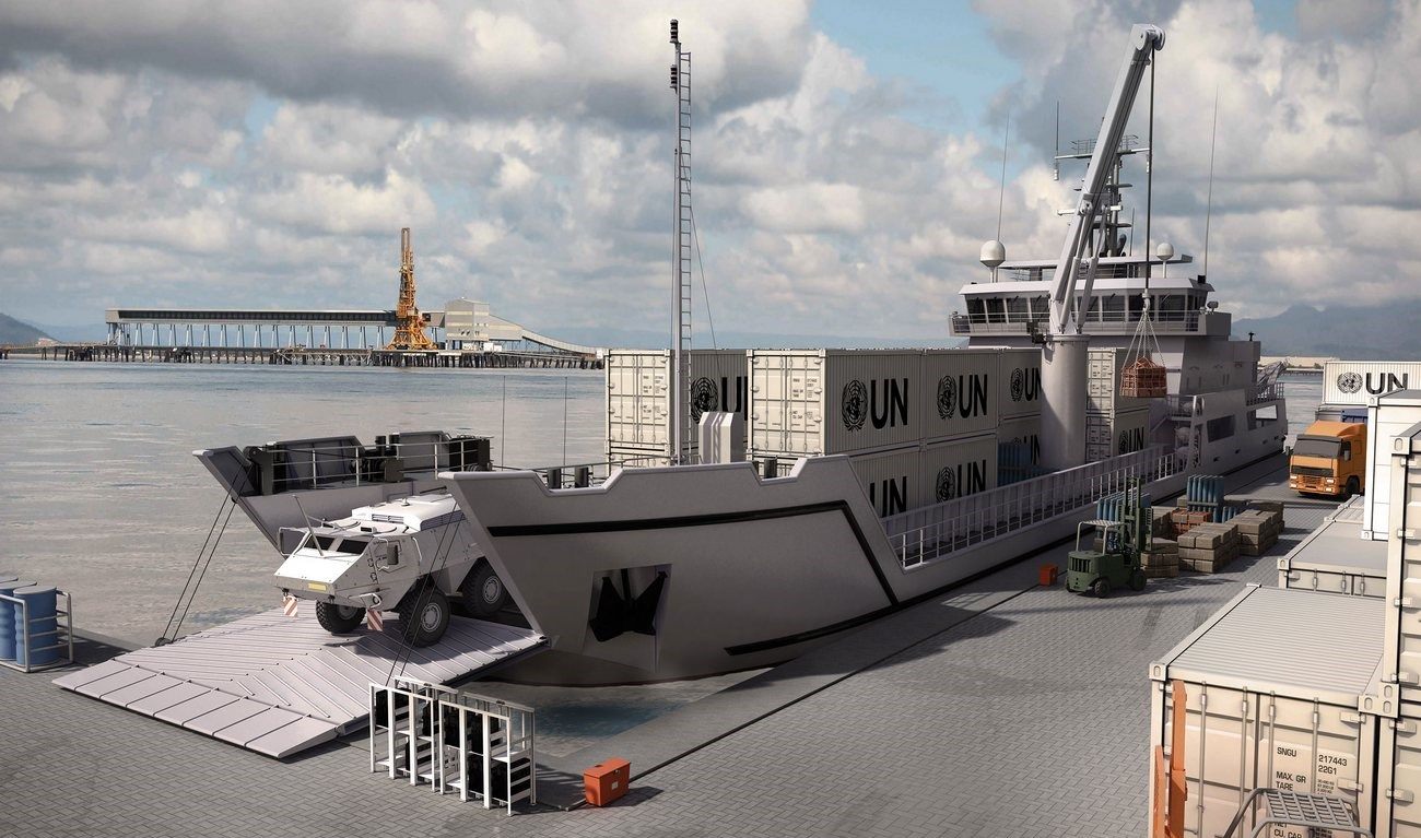 Landing Craft Provides Flexibility In Operations Guaranteed