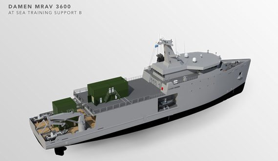 Multi Role Auxiliary Vessel 3600 - Mission: at Sea Training Support B