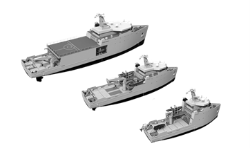 Damen offers range of three Multi Role Auxilary Vessels (MRAV)