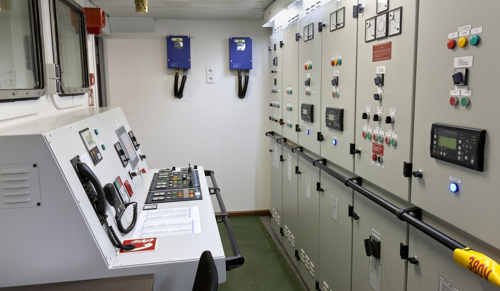 18 Kts Speed Offshore Patrol Vessel 1000 For 45 Crew Persons Switchboard Wiring Nz Engine Control And Room On