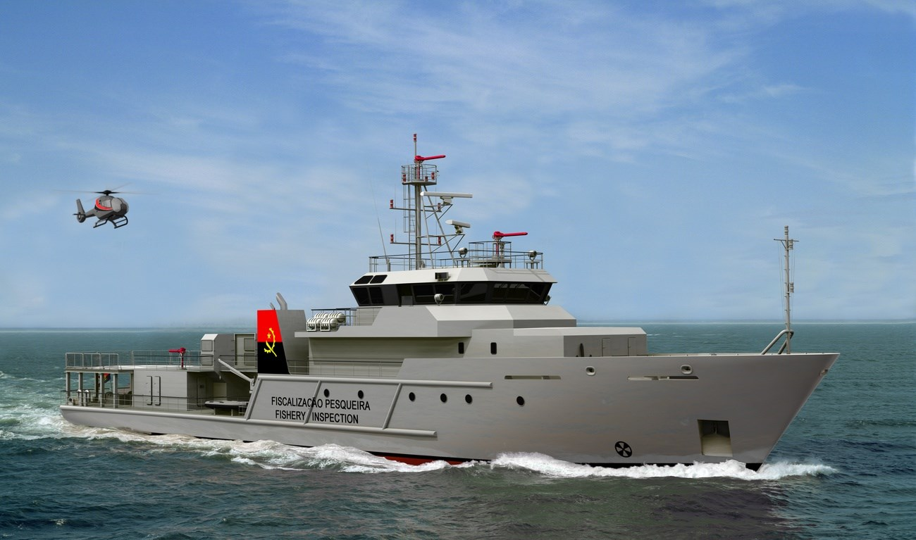 The Damen Offshore Patrol Vessel is specifically developed for navies and coastguards