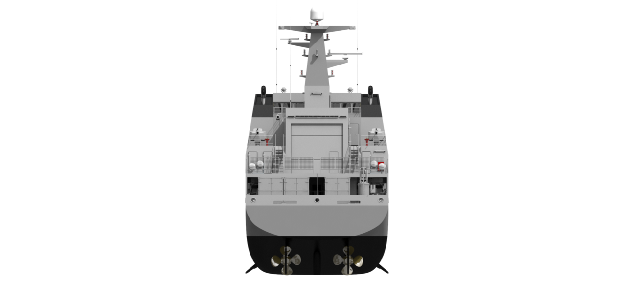 The Damen Offshore Patrol Vessel range has been specifically developed for navies