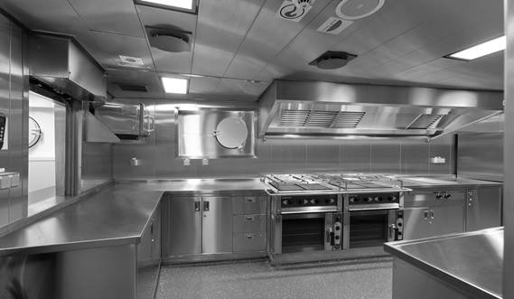 Damen Offshore Patrol Vessel 950 - galley