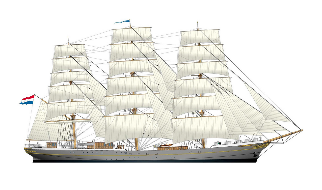 46cba8c6b9a8 Sail Training ship 3500 for training up to 150 cadets