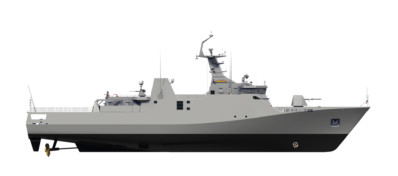 Sigma Corvette 7513 for Search and Rescue operations