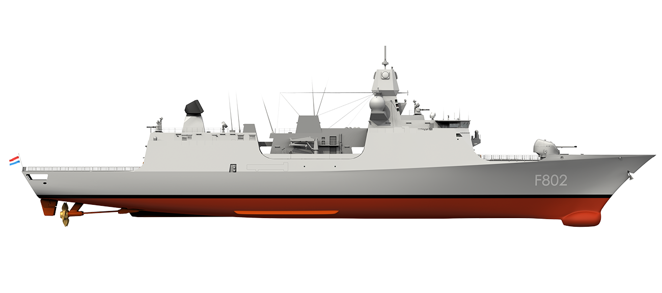 Air Defence & Command Frigate