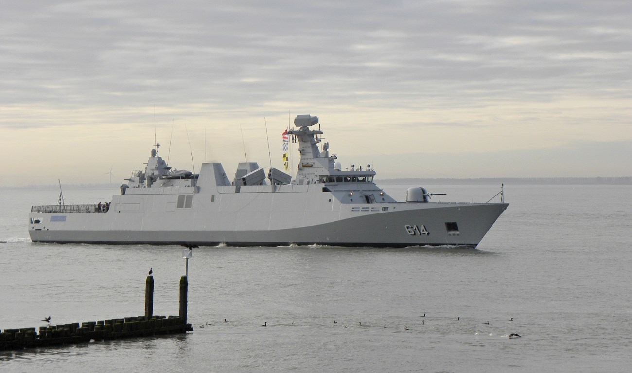 SIGMA frigates are designed in a modular way, using standardised solutions