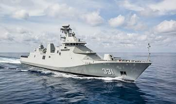 DSNS delivers first SIGMA 10514 PKR frigate to Indonesian Ministry of Defence