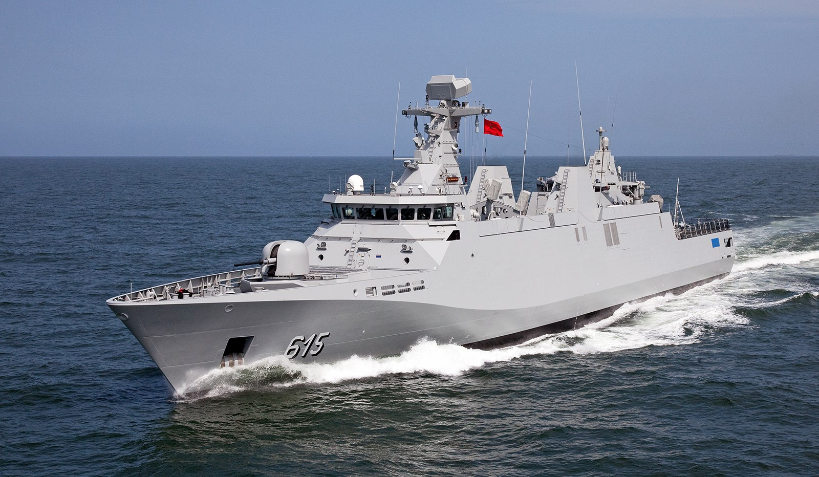Sigma Class Frigate Ship 9813 For All Maritime Operations