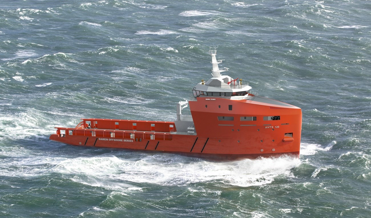 anchor handling tug supply vessel 120