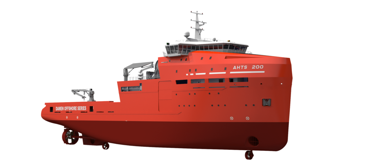 The vessels may be optionally fitted with: Fire Fighting, Oil Recovery and high class Dynamic Positioning installations.