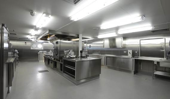 Offshore Carrier CLV galley