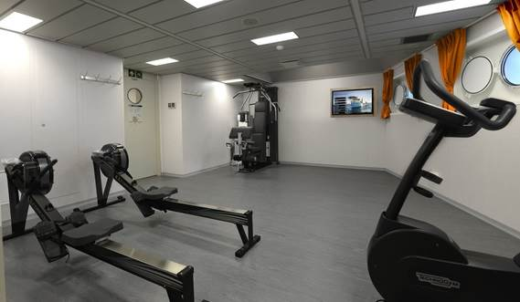 Offshore Carrier CLV gym