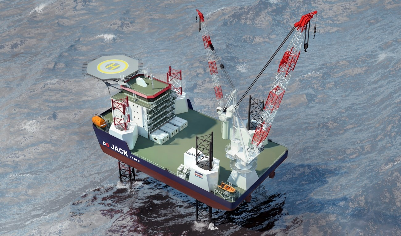 A dedicated Jack Up unit for a multiple range of tasks in the Offshore Wind and Oil & Gas market