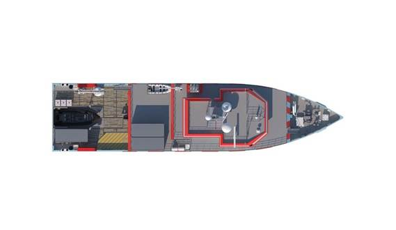 Damen Responder 5413 top view
