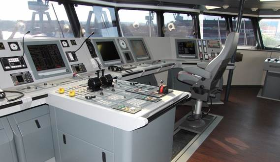 Wheelhouse and console