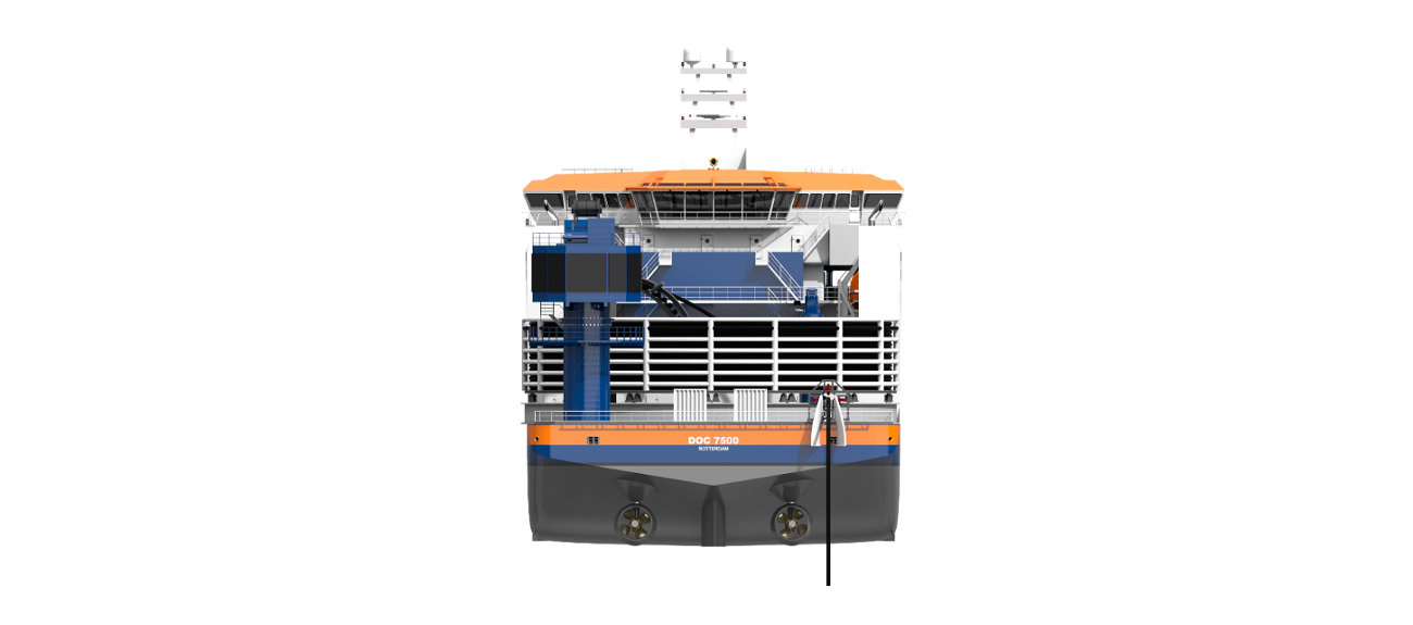 The Damen Offshore Carrier is designed as a transportation vessel with DP2/DP3 capabilities.