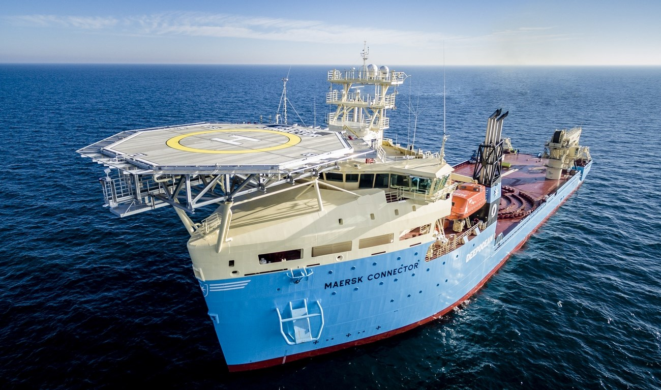 The vessel is going directly on a long-term charter for subsea services provider DeepOcean