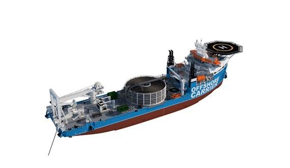 Damen Offshore Carrier - Cable Laying Vessel