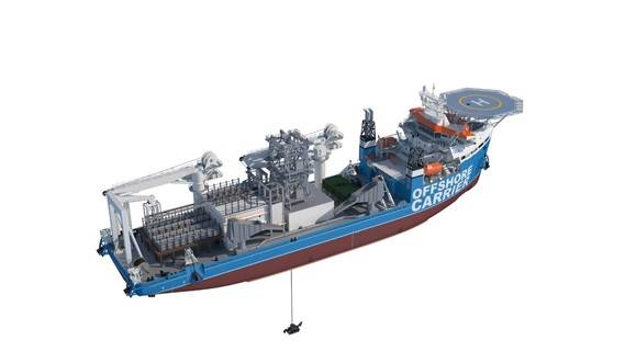 Damen Offshore Carrier - Deep Sea Mining