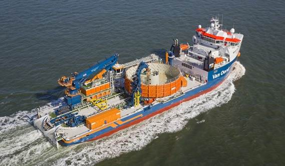 The Damen Offshore Carrier has excellent ro-ro features and a very efficient ballast system.