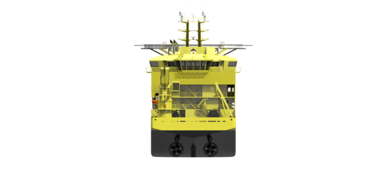 Offshore Construction Vessel 8019