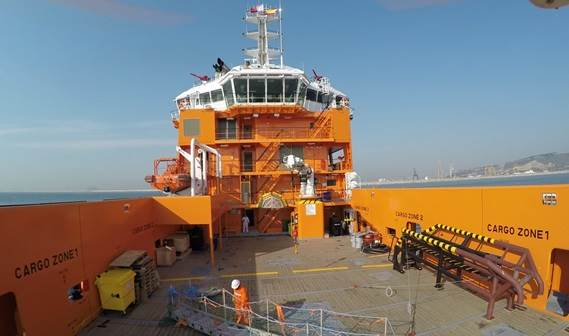 Damen PSV 3300 vessel was delivered to Promar Shipping Services.