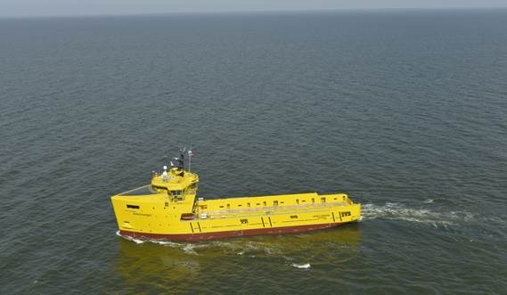 The Damen priority during the design process was to reduce the impact that its vessels have on the environment.