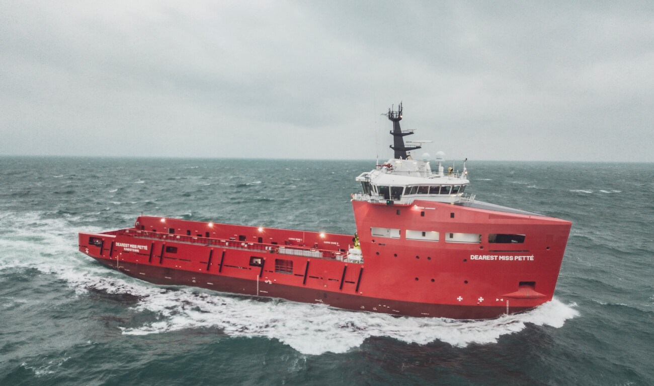 Platform Supply Vessel 3300 CD 'Dearest Miss Pette'