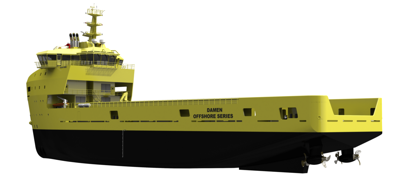 A DEDICATED VESSEL FOR FLEXIBLE SUPPLY DUTIES