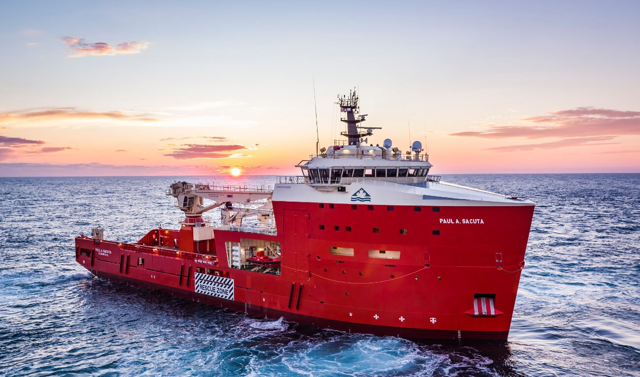 Damen Platform Supply Vessel 5000 IRM 'PAUL A. SACUTA'