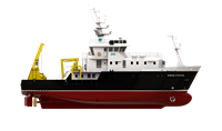 Equipped for oceanographic research and hydrographic survey, for general and defence purposes.