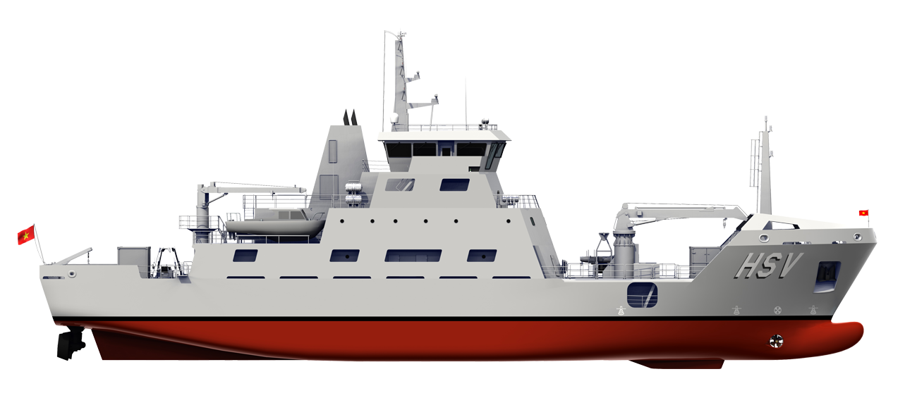 FIRST EVER 'SILENT' RESEARCH VESSEL