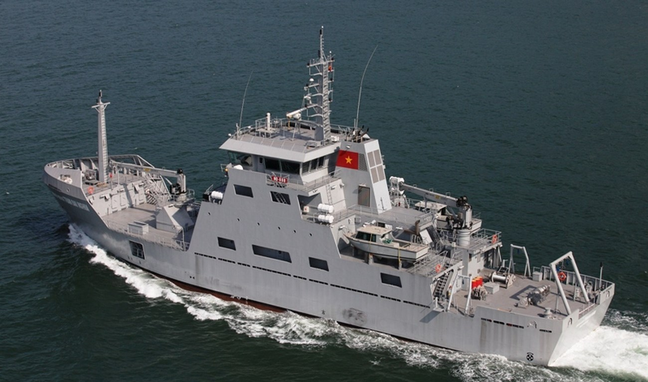 Saudi Arabia has ordered a hydrographic vessel in Spain 65