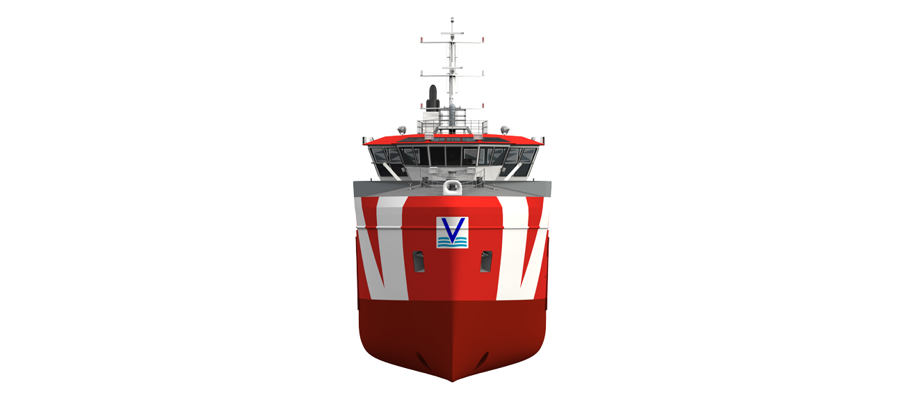 The Damen Safety Standby Vessel is a dedicated design that meets specific North Sea standards.