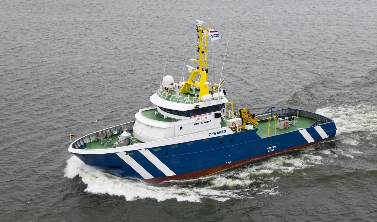 Detailed technical specification for Seismic Research Support Vessel 3508