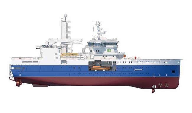 The W2W has been designed for conventional oil and gas maintenance duties as well as wind farm maintenance and support