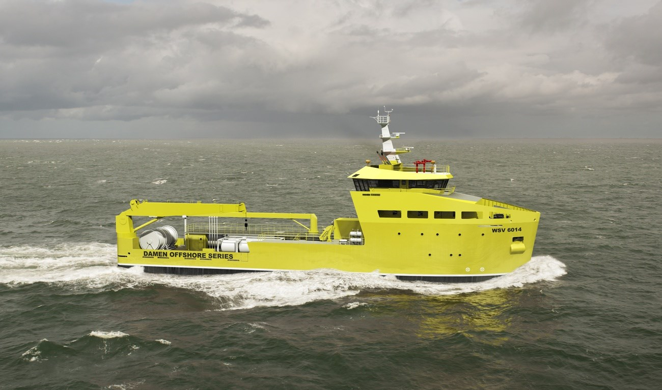 The Damen Well Stimulation Vessel forms a dedicated platform to accommodate a wide range of well stimulation equipment.