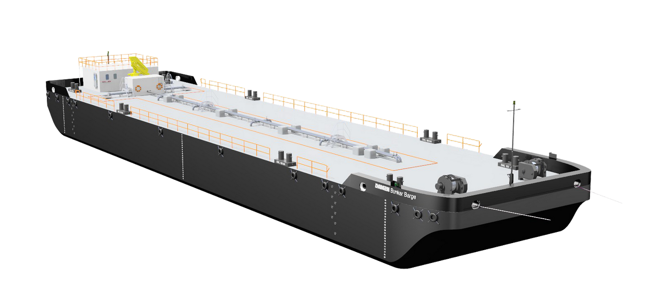 The Bunker Barge is very popular across a wide range of industries and regions.