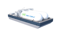 Damen Floating Storage Unit LNG13000